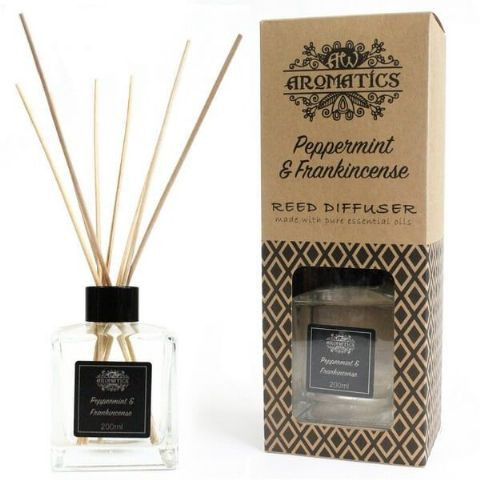 Peppermint & Frankincense Essential Oil Reed Diffuser - 200ml